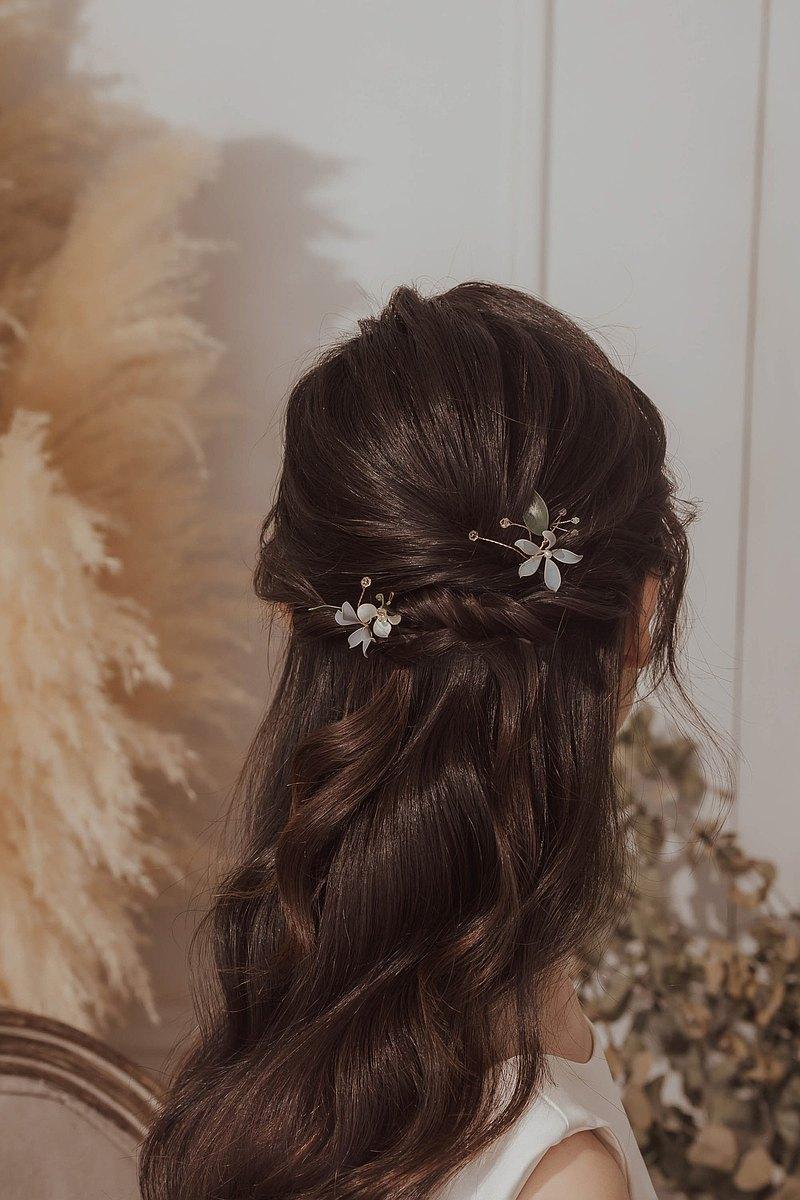 【春花】 兩用兩件式飾品 (擺飾、髮飾)