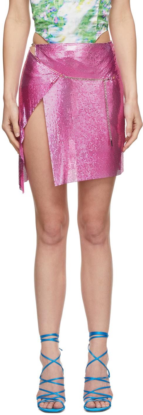 Poster Girl SSENSE 独家发售粉色 Winona 半身裙