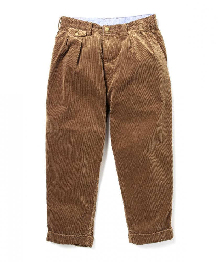 BEAMS PLUS / 男裝 兩摺 燈芯絨 長褲