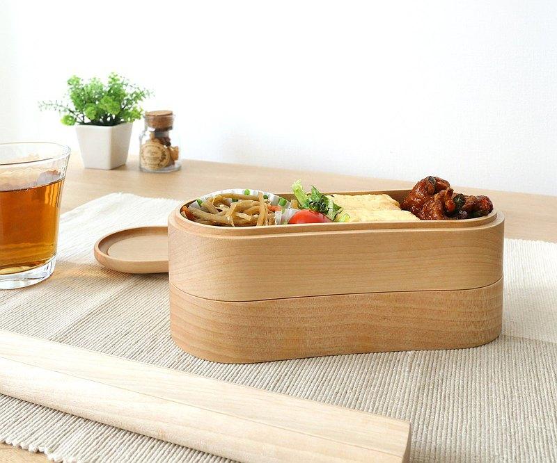 旭川工藝 Sasaki工藝 花生型兩層便當盒
