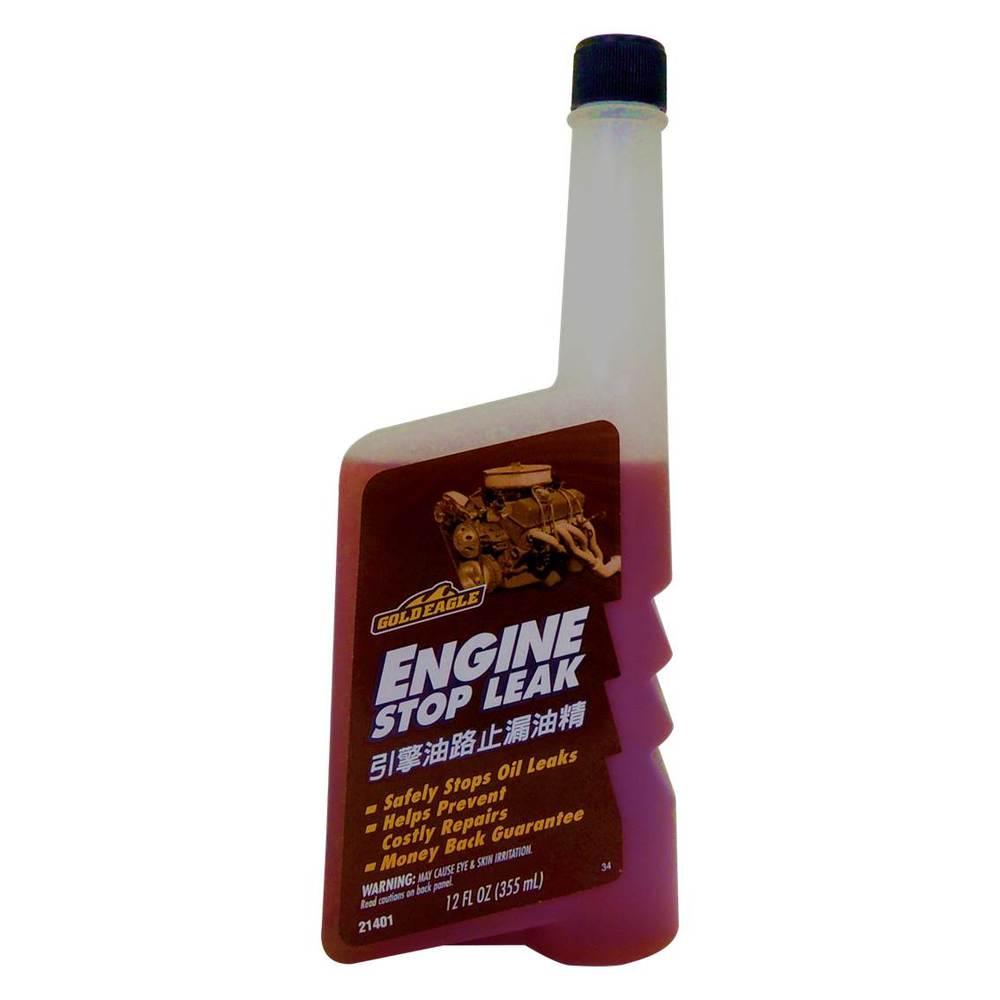 美國 GOLDEAGLE 引擎油路止漏油精 引擎止漏劑 機油添加劑
