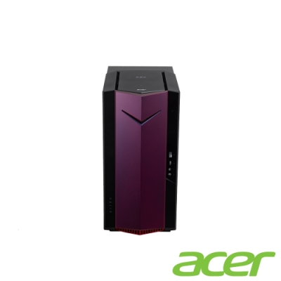 Acer N50-610-SE 十代i7八️核獨顯電競桌上型電腦(i7-10700F/RTX3060Ti/8G*2/512G/Win10h)