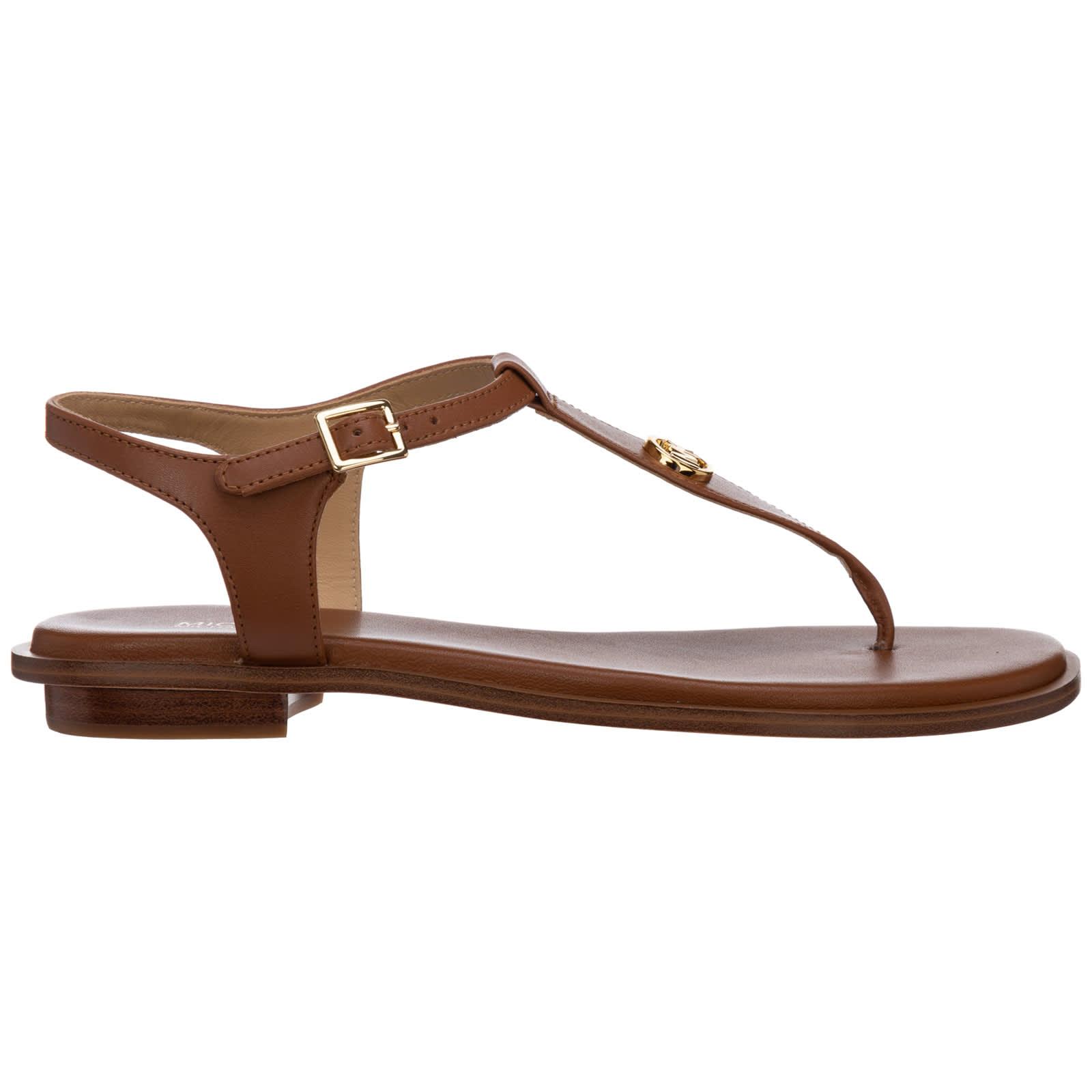Michael Kors Mallory T-bar Sandals
