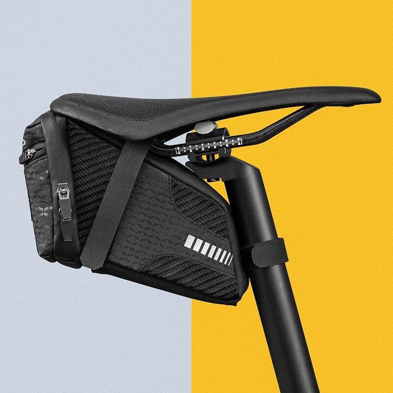 自行車尾包山地公路車鞍座包防潑水可擴展后座包單車配件1 愛尚優品