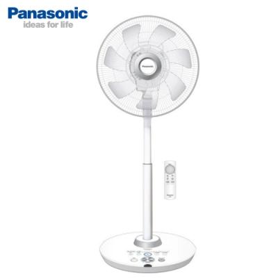 Panasonic國際牌 14吋 8段速ECO溫控微電腦遙控負離子DC直流電風扇 F-H14GND 旗艦型