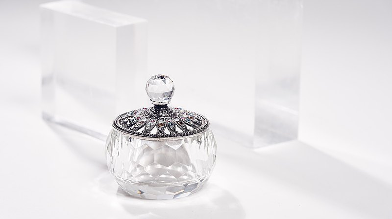 Neve Jewelry 璀璨恆星 水晶珠寶盒(銀)
