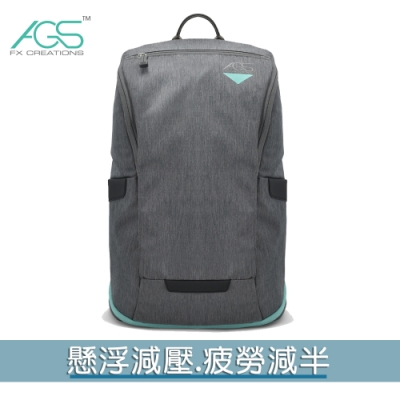 【FX Creations】AGS PRO 15.6吋懸浮減壓電腦後背包 ZETA款#迷霧灰 FTA69986A-45