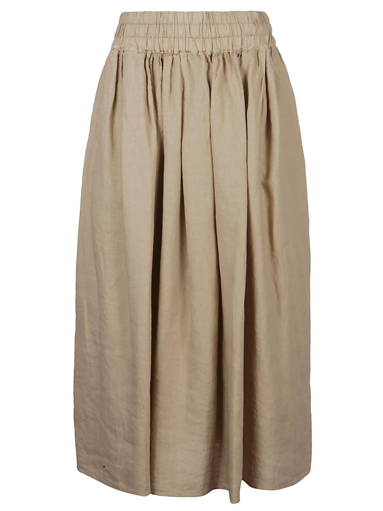 Aspesi High-waist Plain Skirt
