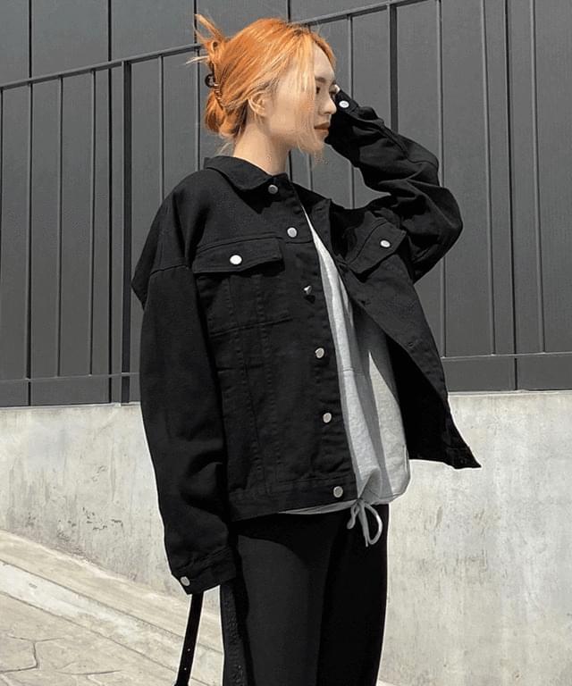 韓國空運 - Sinos Boxy-fit Cotton Jacket 夾克