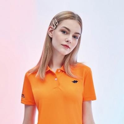 Londa POLO吸濕排汗女版短袖POLO衫P217207橘