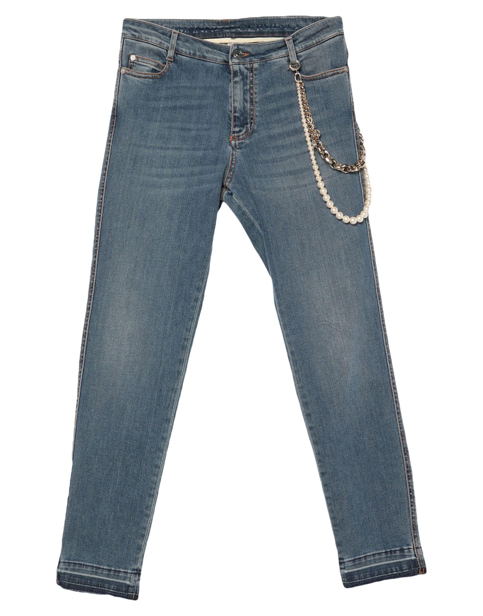ERMANNO SCERVINO Denim pants - Item 42836284