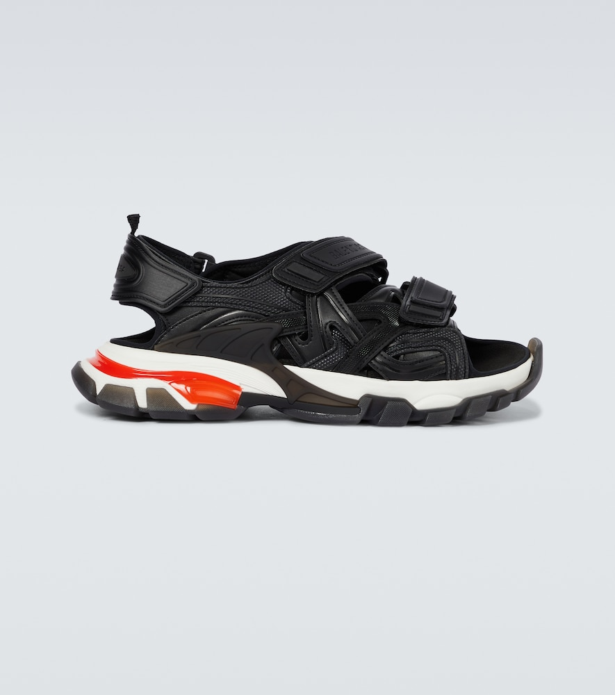 Track Clear Sole strapped sandals