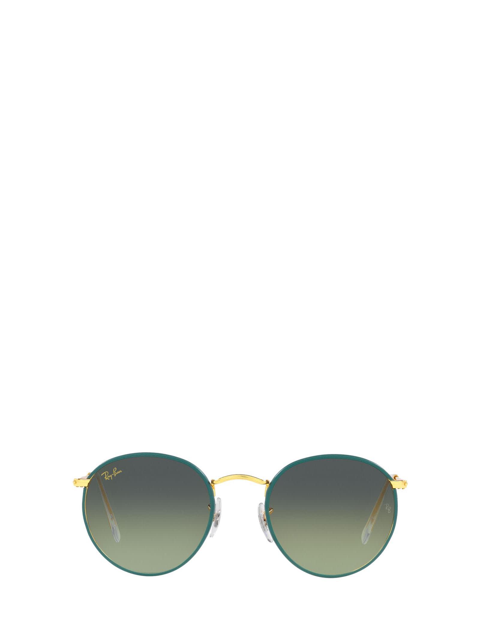 Ray-Ban Ray-ban Rb3447jm Petroleum On A Legend Gold Sunglasses