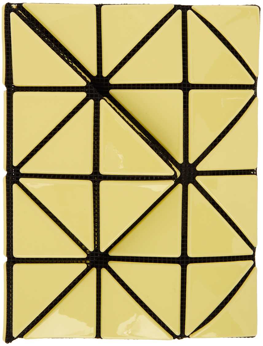 Bao Bao Issey Miyake 黄色 Card 钱包