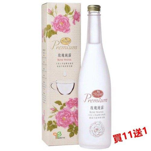 (買11送1) 曼寧 玫瑰純露 560ml/瓶