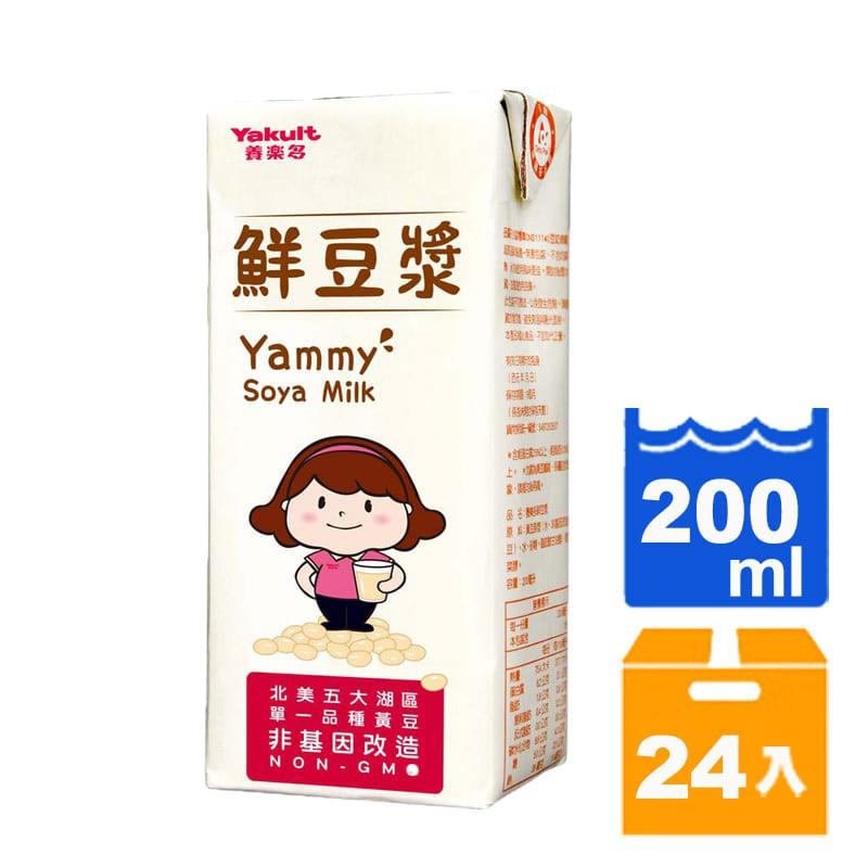 養樂多 鮮豆漿 200ml (24入)/箱 【康鄰超市】