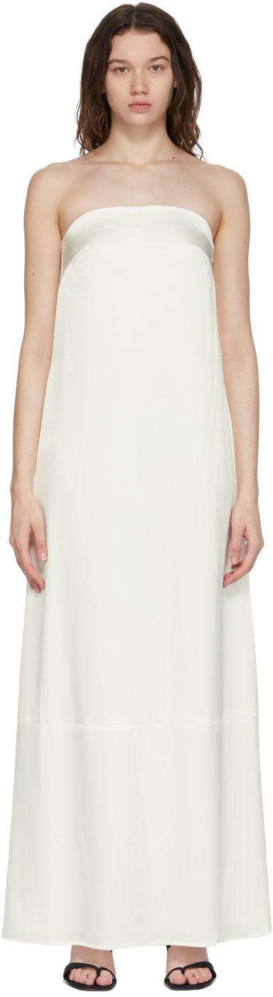 Esse Studios 白色 Column 连衣裙