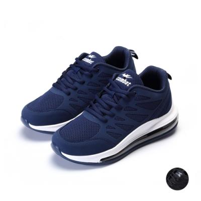 COMBAT艾樂跑男鞋-氣墊運動鞋-藍/黑(22580)