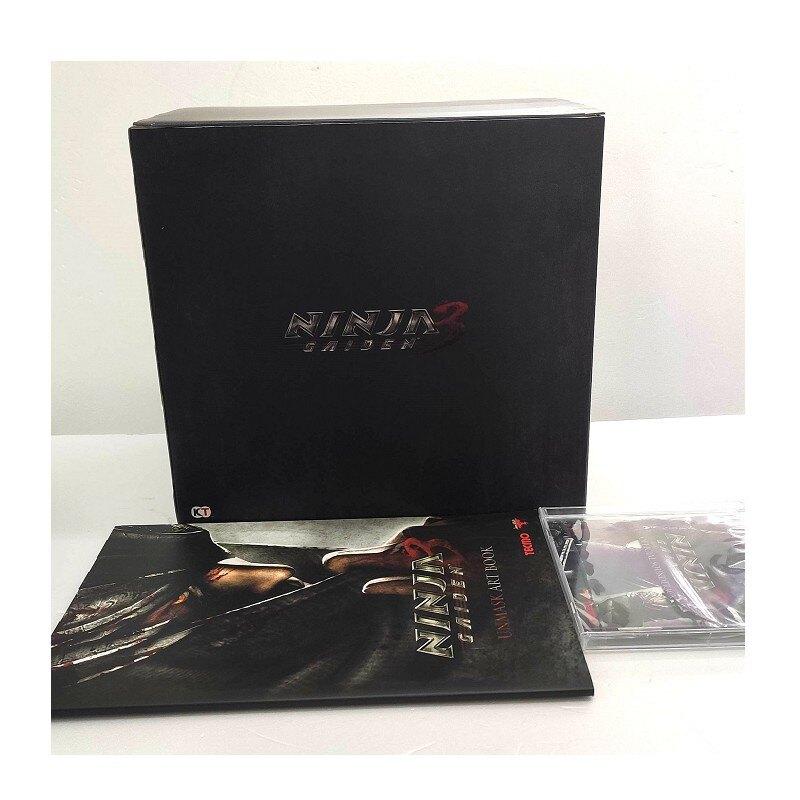 PS3 XBOX 360 忍者外傳3 典藏版 限定版 公仔 龍準 假面導師 【限定特典】