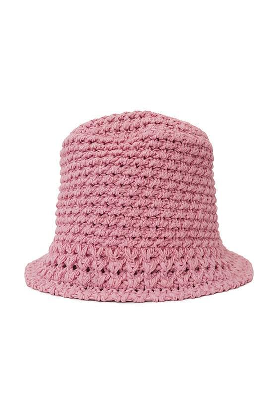 韓國空運 - Spring Knitwear Bucket Hat 帽子