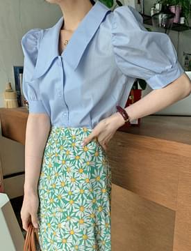 韓國空運 - Michelle Puff Carablouse 襯衫