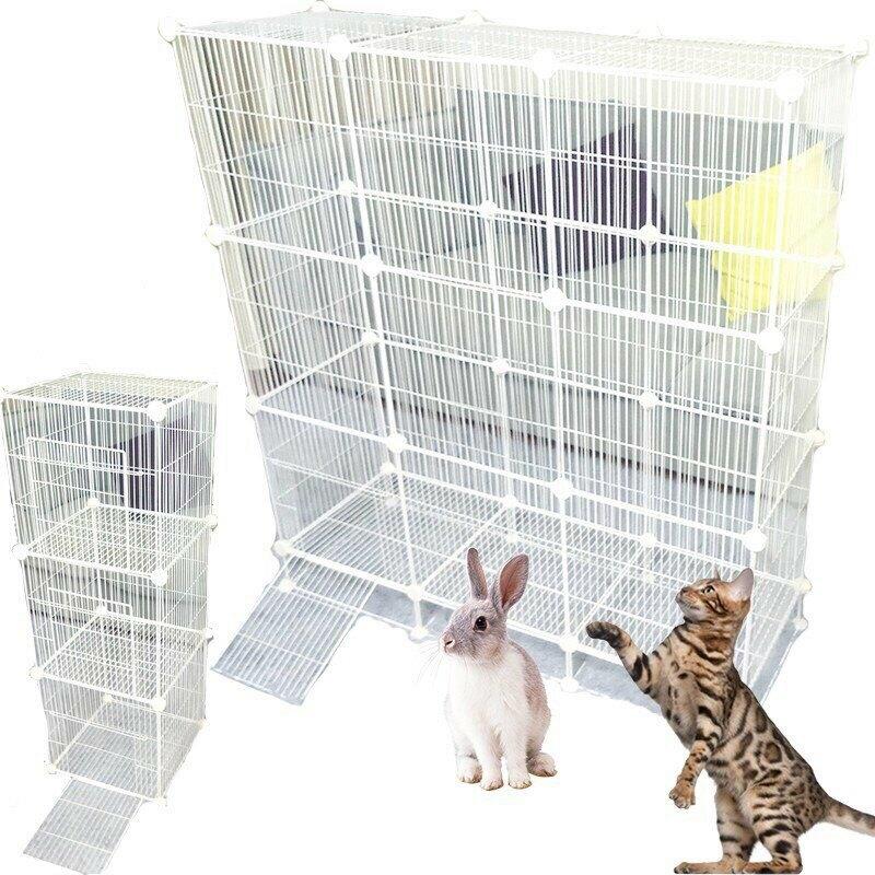 DIY魔片 雪貂籠子 小鳥籠子 松鼠籠子 鐵網寵物籠【B00021】