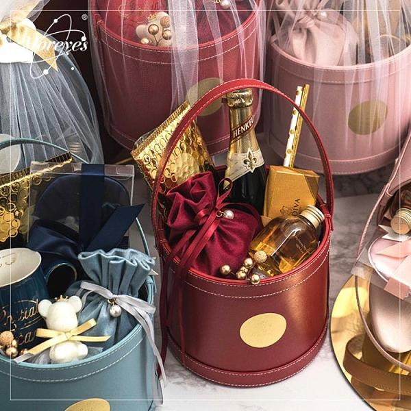 閨蜜伴手禮女伴娘小禮品結婚禮盒喜糖包裝盒ins網紅高檔禮品定制 滿天星