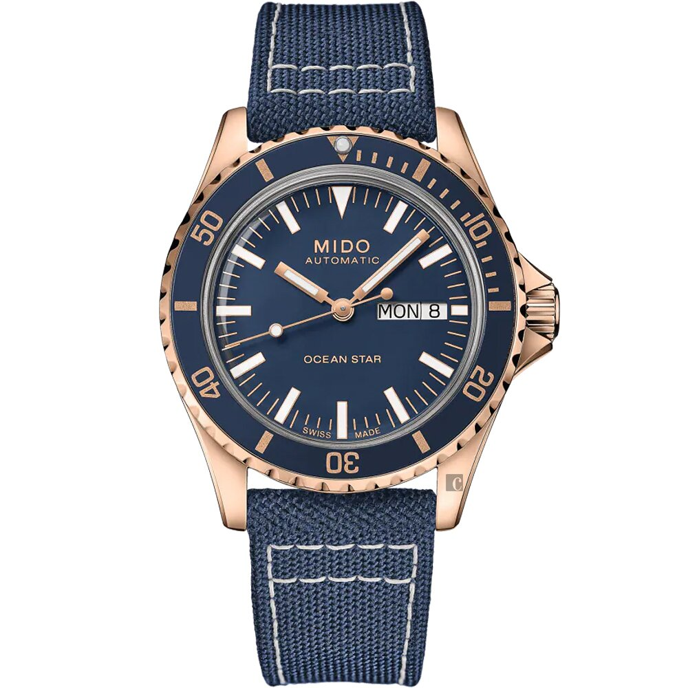 MIDO美度 Ocean Star 海洋之星 75周年 200米潛水機械錶 M0268303804100