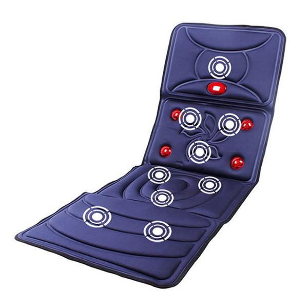 (現貨24H)頸椎按摩器 按摩床墊 腰部全身按摩 紅外加熱 多功能 電動毯/可開超取