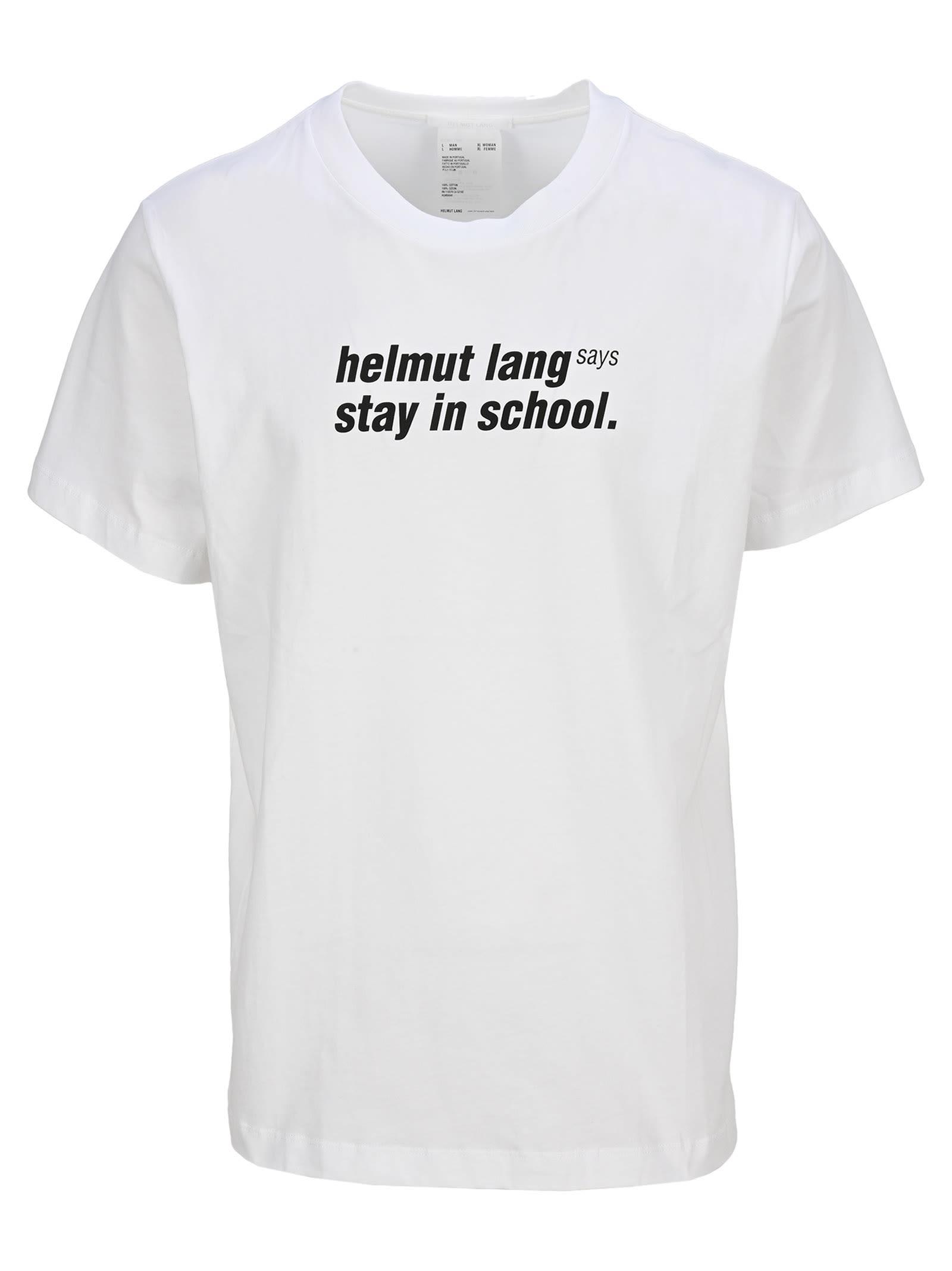 Helmut Lang School Tee