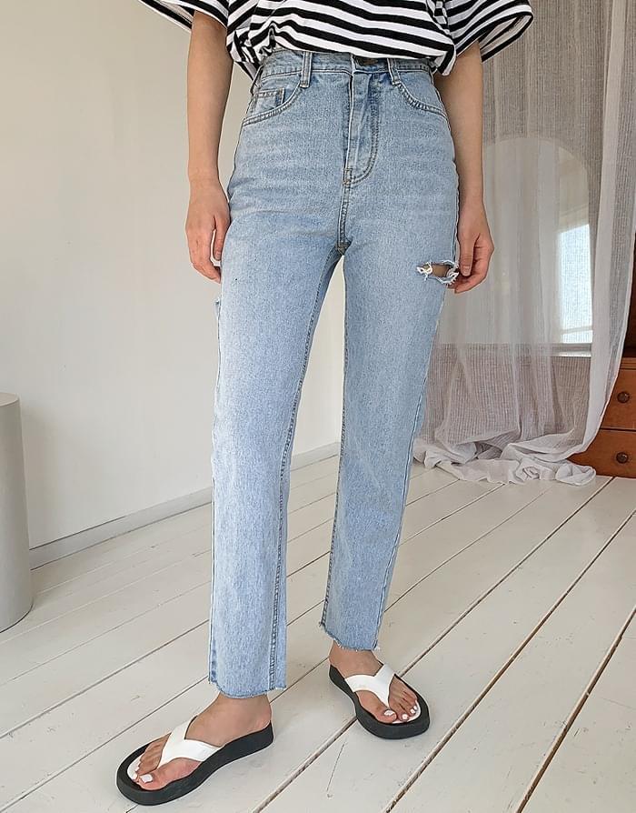 韓國空運 - Planet Denim Pants 牛仔褲