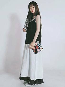 韓國空運 - Bustier Lodi Long Dress 長洋裝