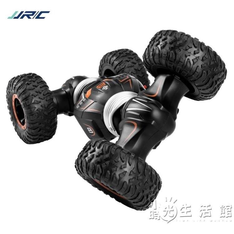 健健兒童四驅越野車超大號特技扭變車電動攀爬車男孩玩具遙控汽車 摩可美家
