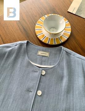 韓國空運 - Backpoint Vintage Linen Jacket 夾克