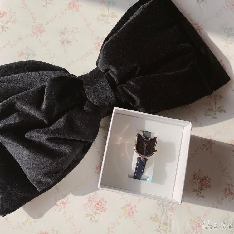 美少女戰士日本限定露娜luna小貓細錶帶黑貓日本原裝機芯腕錶手錶 摩可美家
