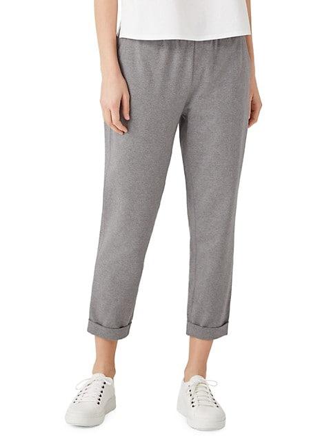 Slim-Fit Crop Pants