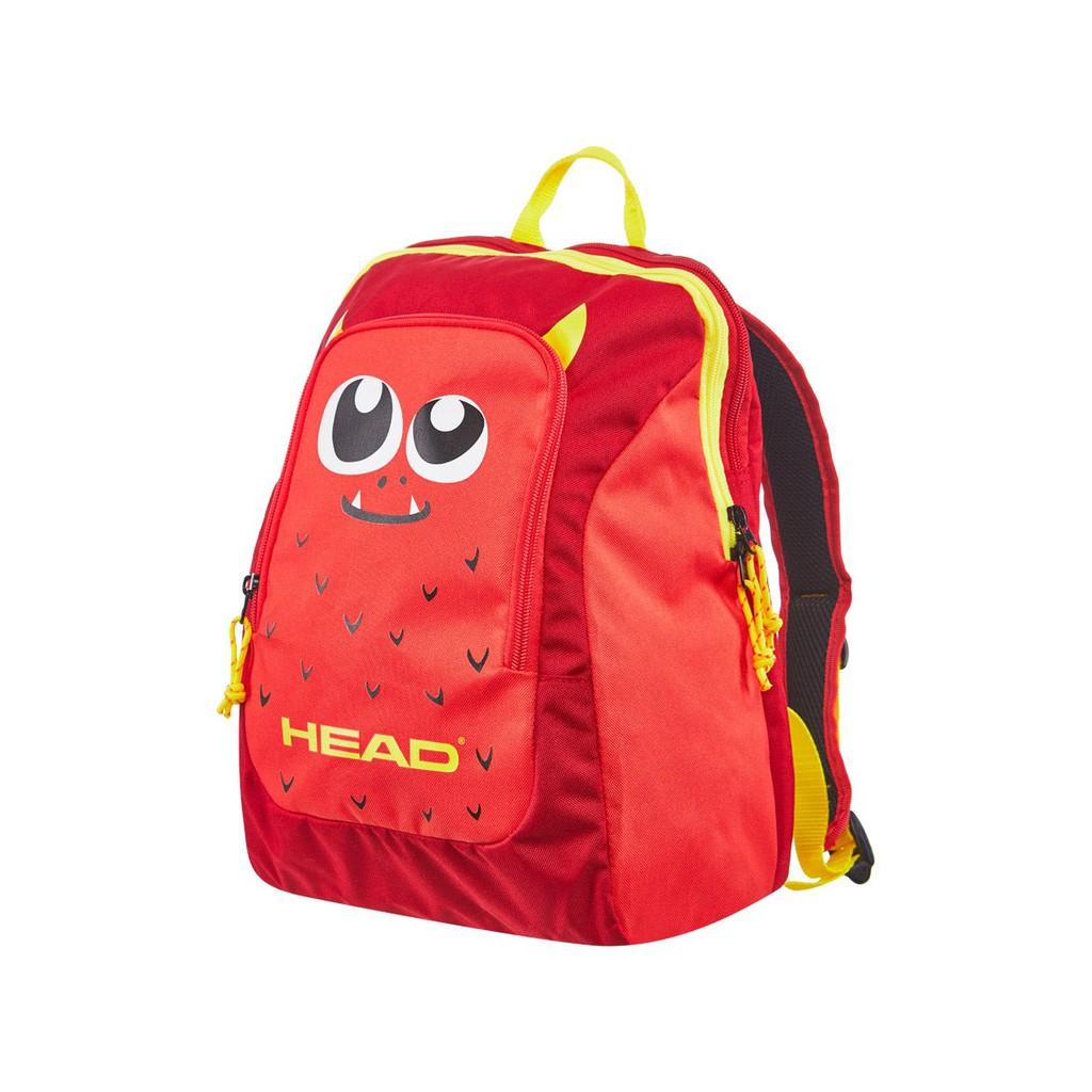 Head 2021 Kids 後背包 紅黃怪獸 [網拍袋]【偉勁國際體育】【促銷】