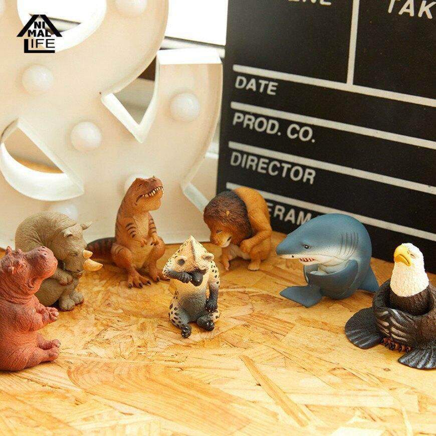 Animal Life 男人不可以哭盲盒盒 動物 手辦 潮流 玩具 擺件