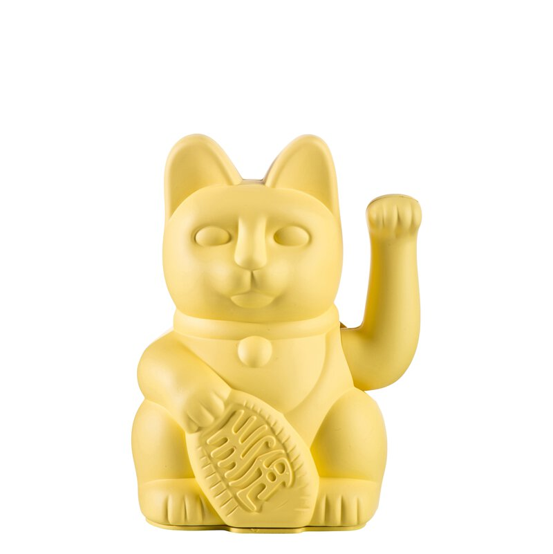【5/7~5/14限時10%回饋】Donkey幸運繽紛招財貓 ★幸運黃色:代表財富繁榮、締結良緣。