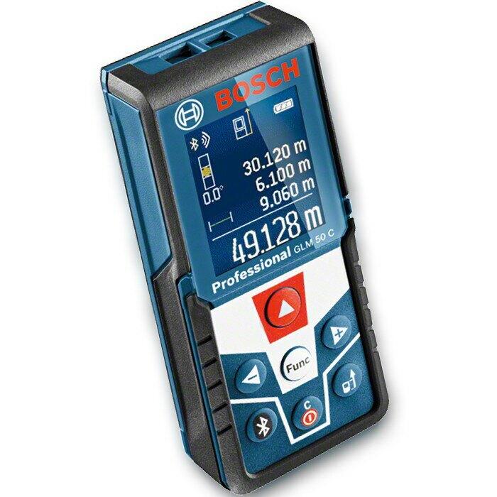 博世 GLM 50C (贈 50C專屬保護套) 藍芽連線專業測距儀  - 原廠保固