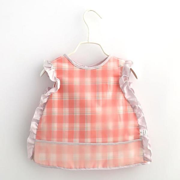 飯兜 夏季寶寶吃飯罩衣兒童防臟反穿衣嬰兒韓版防水護衣小孩畫畫圍兜 寶貝 免運