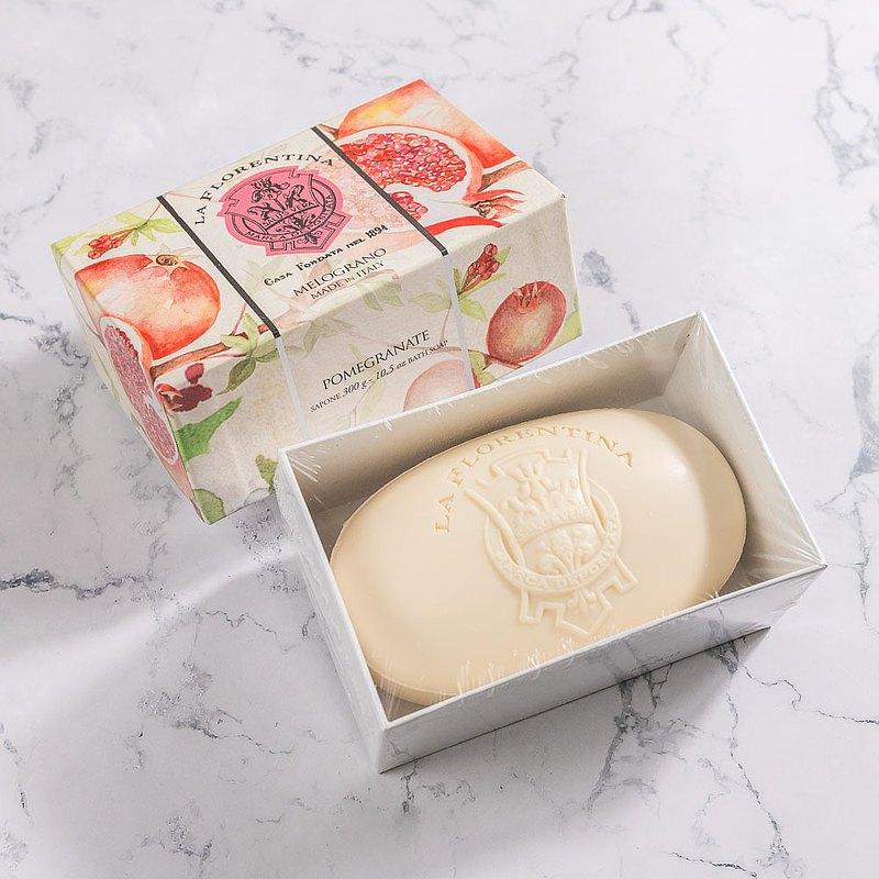 義大利手工香氛皂 300g-石榴