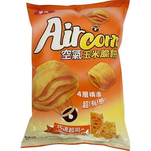 華元 Air Corn空氣玉米脆餅-巧達起司味(81g/包)[大買家]