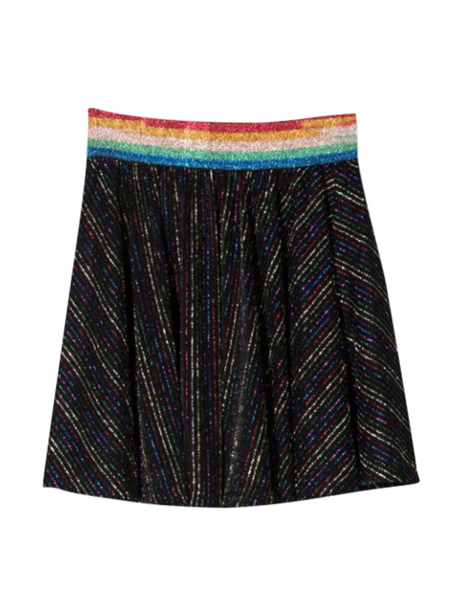 Sonia Rykiel Enfant Teen Black Skirt
