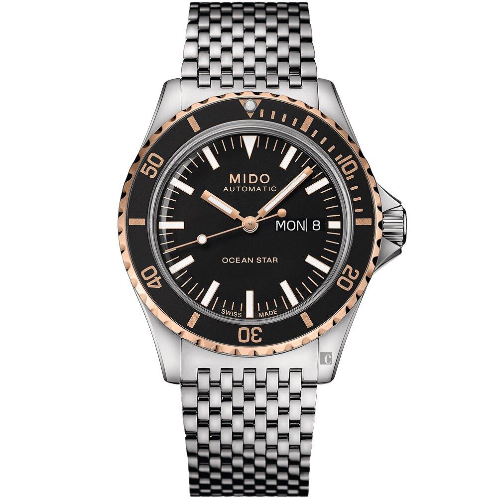 MIDO美度 Ocean Star 海洋之星 75周年 200米潛水機械錶 M0268302105100
