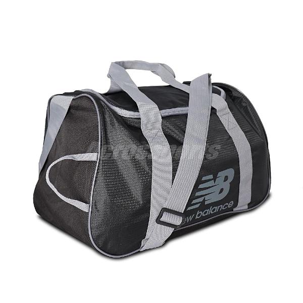 New Balance 手提包 NB Sports Bag 黑 灰 男女款 斜背 健身包 運動休閒 【ACS】 LAB11108BK