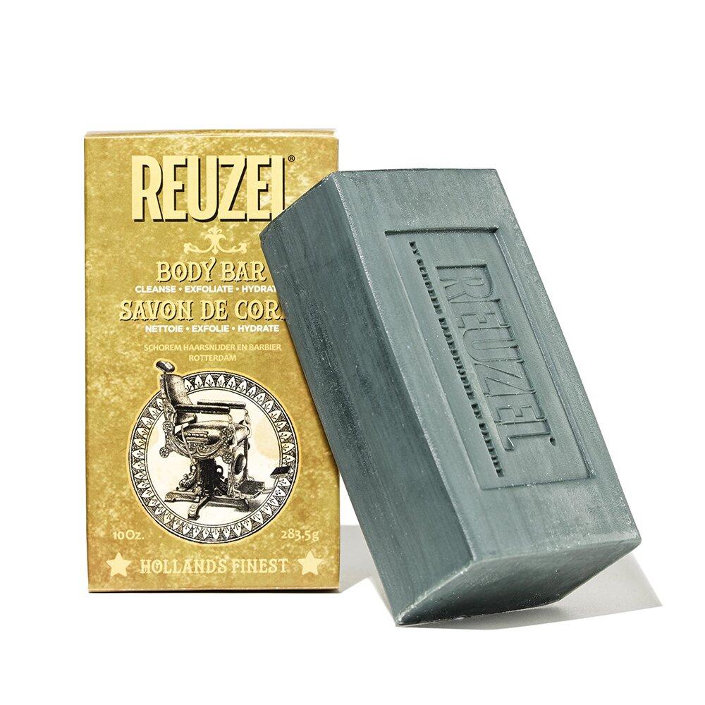 REUZEL 專業薄荷茶樹去角質皂 283.5g