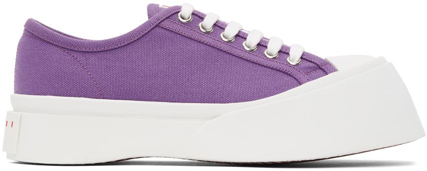 Marni 紫色 Pablo 运动鞋