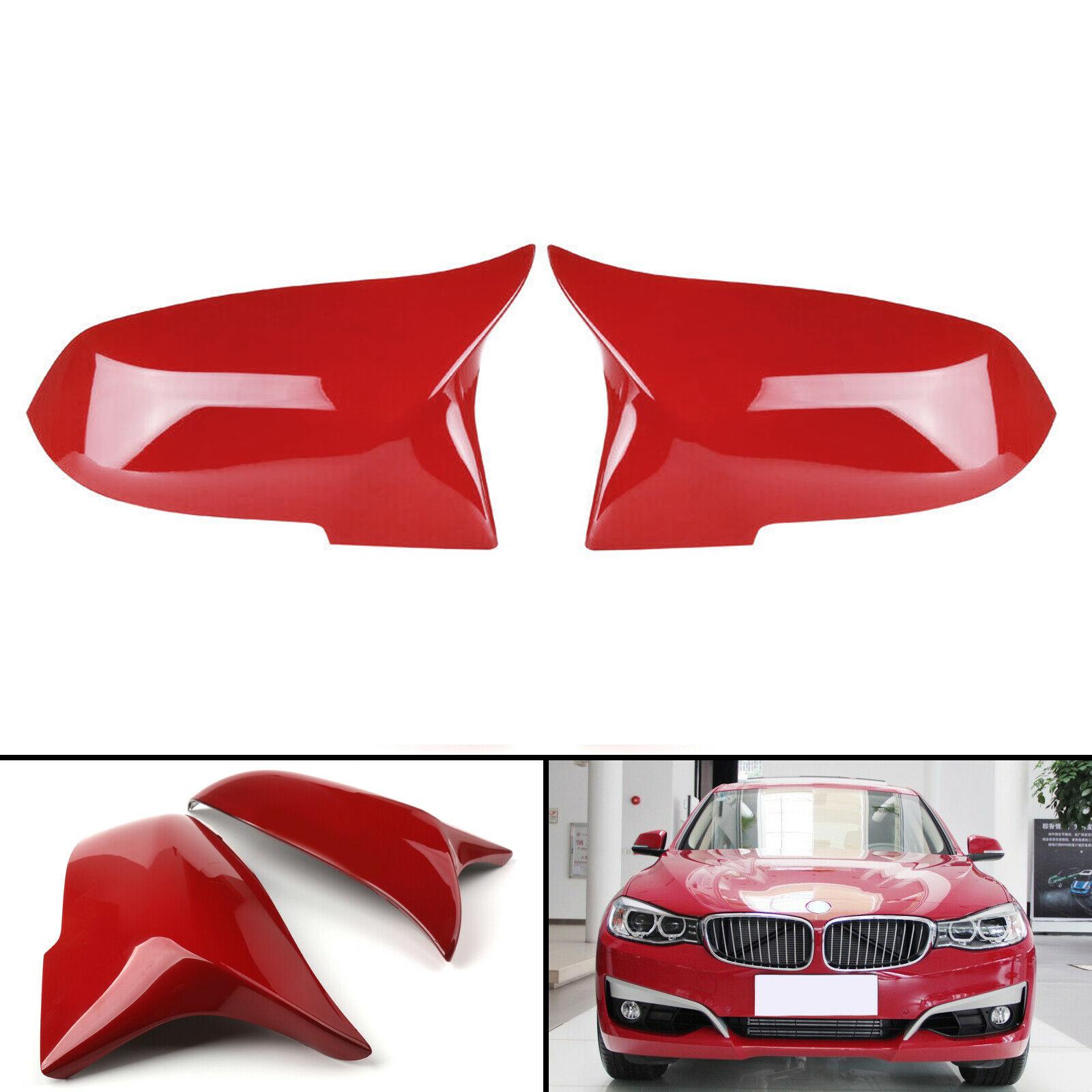 BMW後視鏡蓋適用2012-2018 F30 F31 Sedan紅-極限超快感