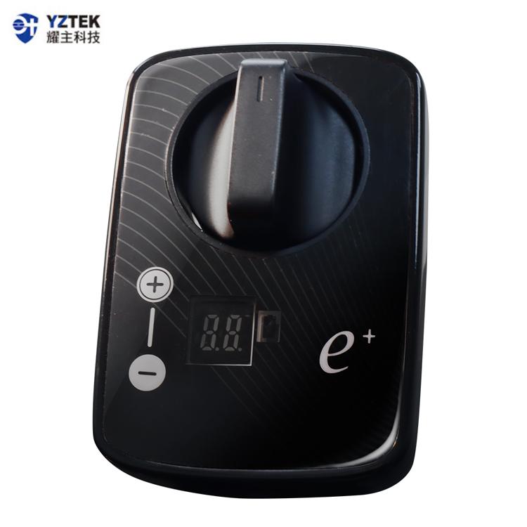 E+自動關 瓦斯爐輔助安全開關 定時自動熄火 特仕版/直式黑 TY-006VB
